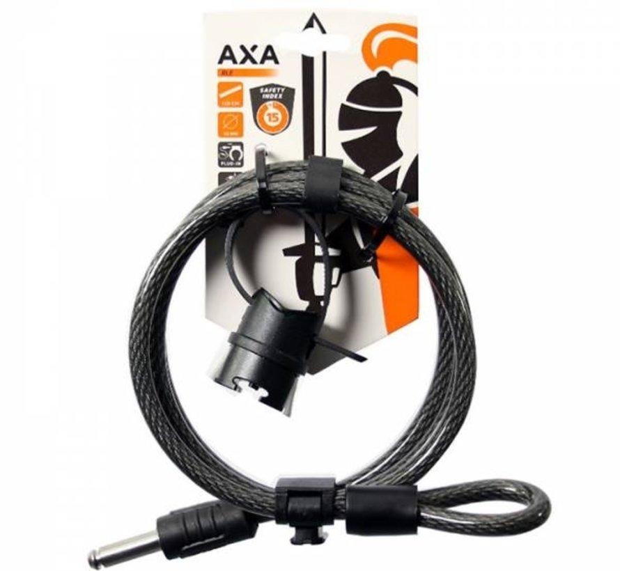 Slotkabel Axa RLE 150/10 met houder - zwart (op kaart)