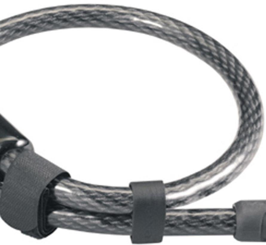 Slotkabel AXA RL 80/15 - zwart (op kaart)