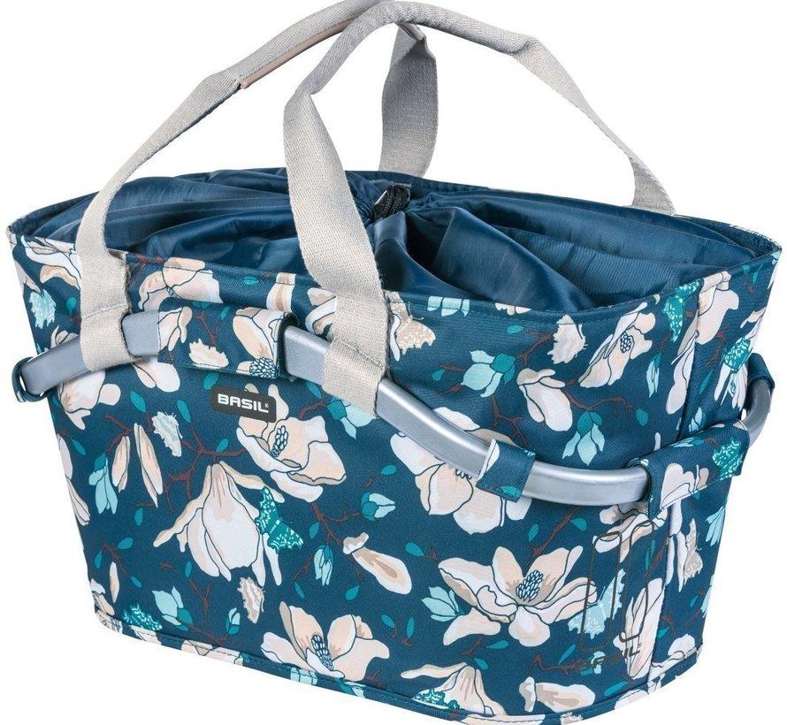 Fietsmand Basil Magnolia Carry All Rear - 15 liter - teal blue