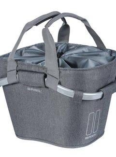 BASIL Fietsmand Basil 2day Carry All 15 liter - grijs