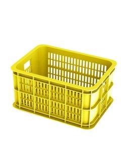 BASIL Basil Crate Small Fietskrat - 25 liter - Lemon