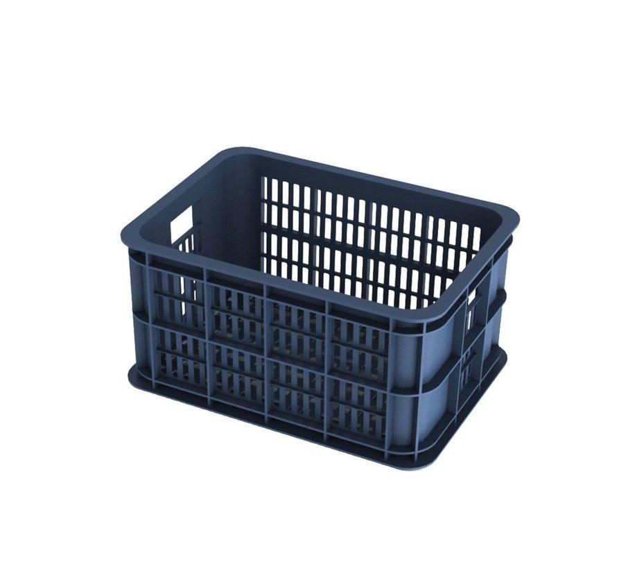 Basil Crate Small Fietskrat - 25 liter - Bluestone