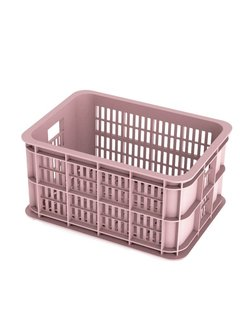 BASIL Basil Crate Small Fietskrat - 25 liter - Faded Blossom