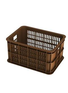 BASIL Basil Crate Small Fietskrat - 25 liter - Zadel Bruin