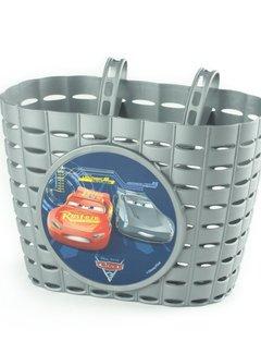WIDEK Fietsmandje Widek Cars 3 - zilver