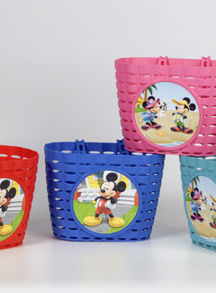WIDEK Fietsmandje Widek Mickey Mouse - assortiment 4 kleuren