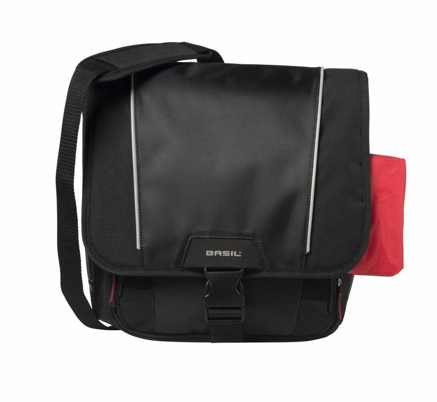 Fietsschoudertas Basil Sport Design 18 liter - zwart