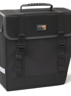 "NEW LOOXS Enkele fietstas New Looxs ""Take away bag"" Hybride - links - 16 liter - zwart"