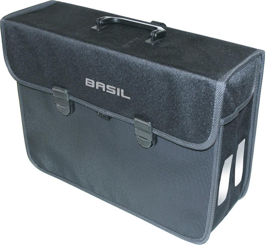 Pakaftas Basil Malaga-XL Zwart  17-liter