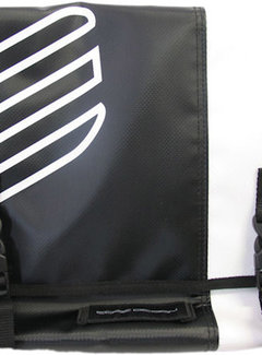 EDGE Tas Messenger Edge wit/zwart