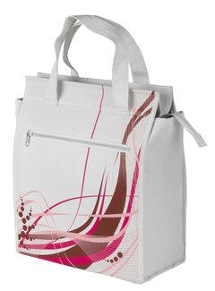 M-WAVE Shoppertas M-Wave White-Fancy