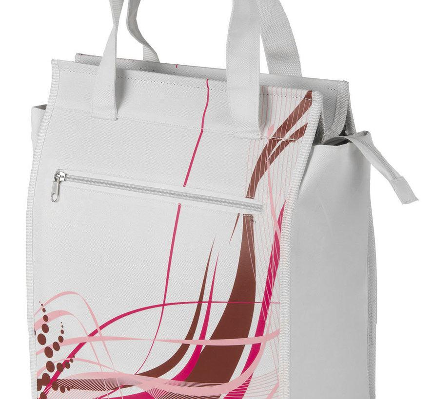 Shoppertas M-Wave White-Fancy