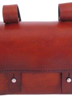 MONTE GRAPPA Stuurtas / frametas Selle Monte Grappa vintage leder - Charleston
