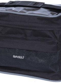 BASIL Stuurtas Basil Mali 8 liter - zwart