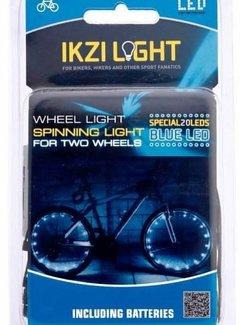 IKZI Wielverlichting IKZI voor 2 wielen - rode leds