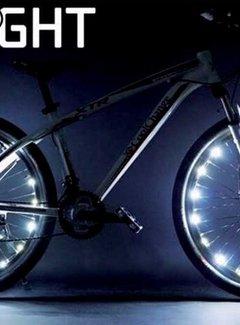 IKZI Wielverlichting IKZI voor 2 wielen - groene leds