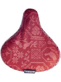 Basil Bohème zadeldek - vintage red