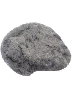 MERKLOOS Zadeldek schapenvacht voor rokzadel met punt