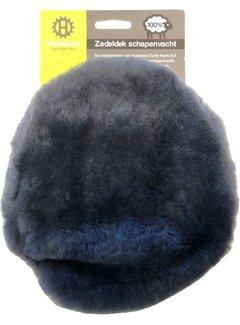 MERKLOOS Zadeldek schapenvacht rokzaldel - grijs