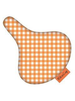 BIKECAP Zadeldek BikeCap Orange Checkmate