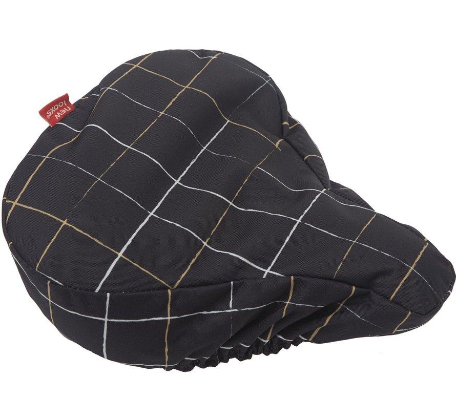 Zadeldek New Looxs - check black