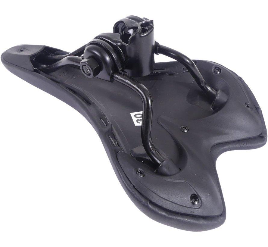 Zadel Selle Sela Sportief - zwart