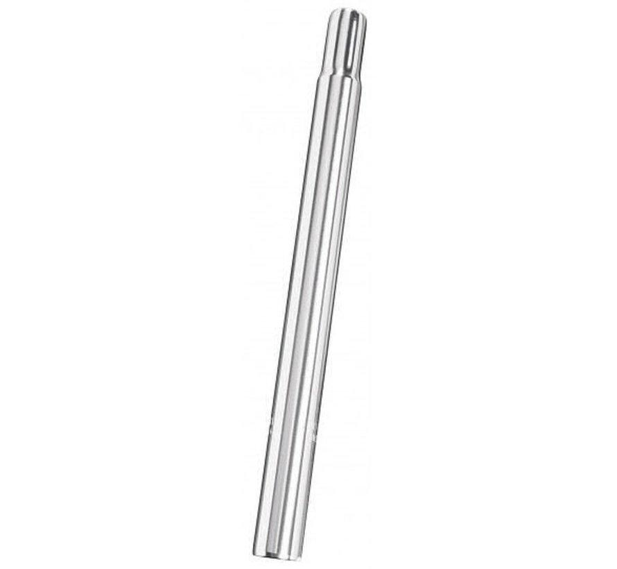 Zadelpen kaars aluminium ø30,2 / 300mm - zilver