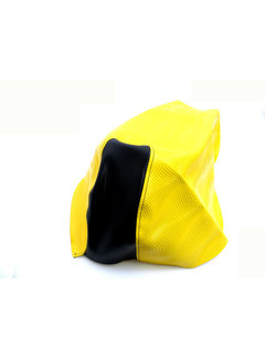XTREME Buddydek Yamaha aerox tot bj. 2014 geel/ zwart wave
