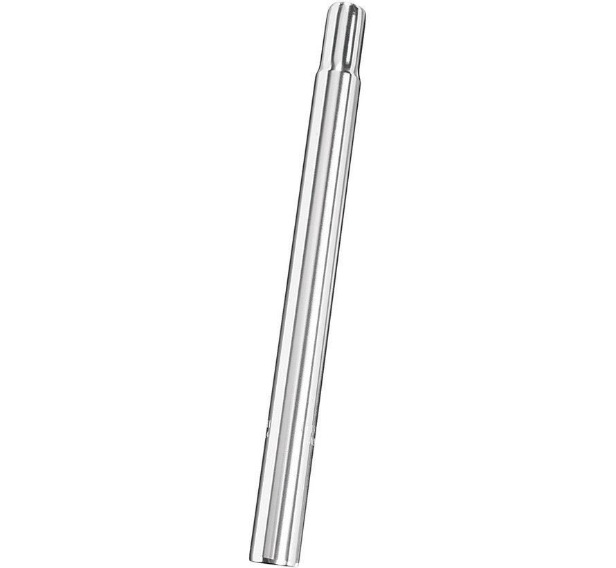 Zadelpen Edge aluminium 27,2 x 300mm - zilver (op kaart)
