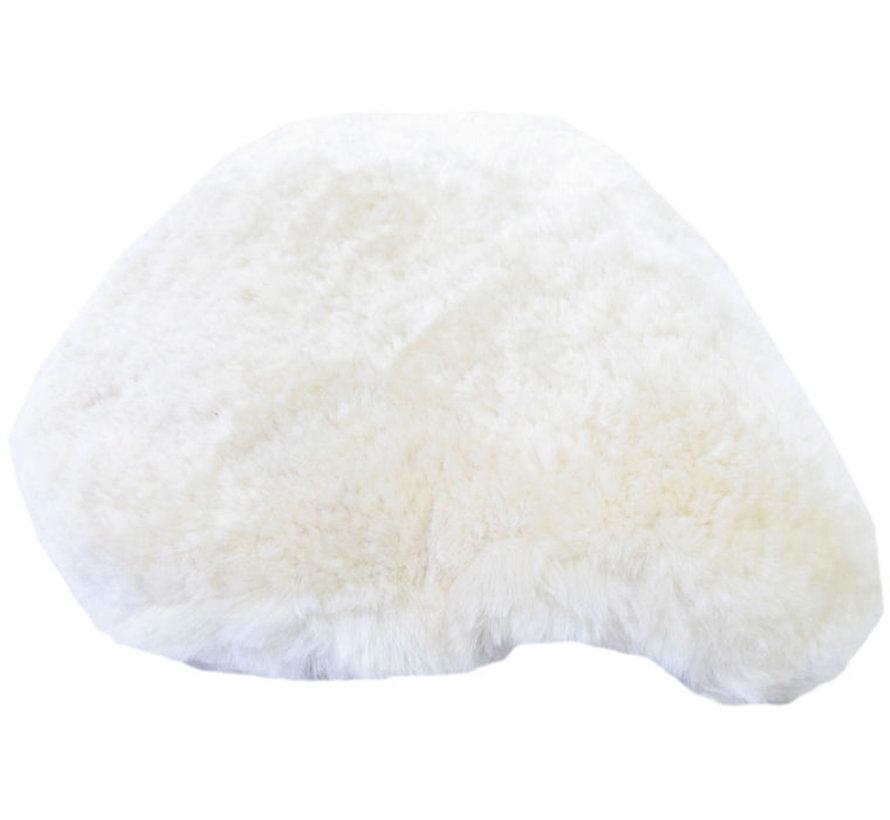 Zadeldek schapenvacht - beige