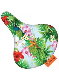 BIKECAP Zadeldek BikeCap Tropical Flower