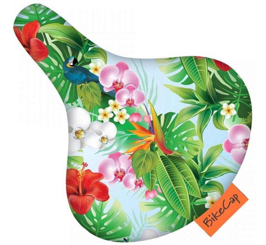 Zadeldek BikeCap Tropical Flower