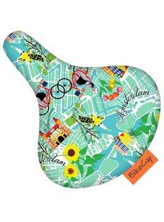 BIKECAP Zadeldek BikeCap Get Lost Amsterdam