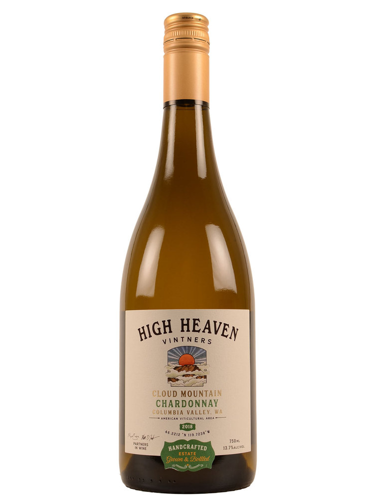 High Heaven Vintners Cloud Mountain Chardonnay