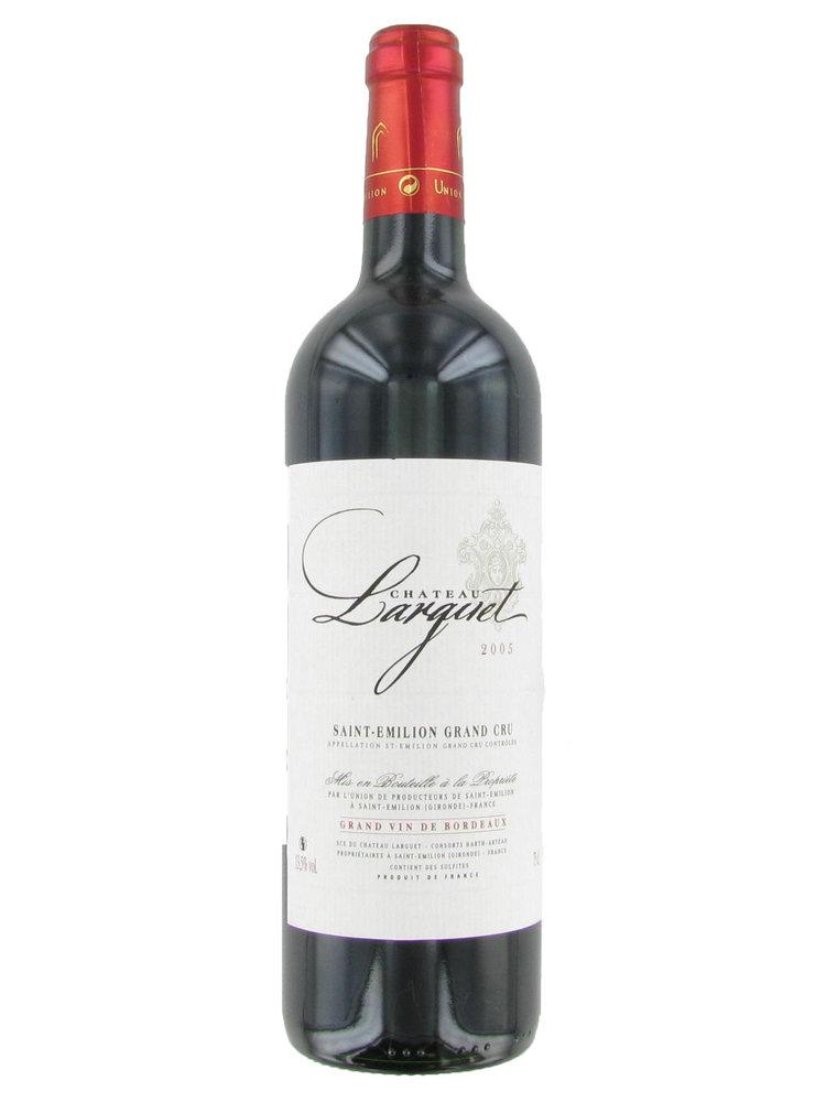 Vins de Bordeaux Château Larguet Saint-Émillion Grand Cru
