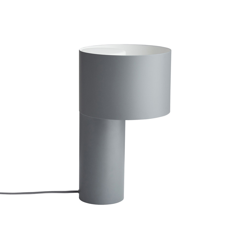 Tangent Table Lamp, Cool Grey