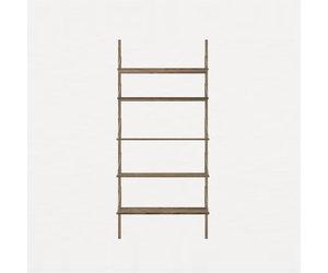 Sensational Frama Shelf Library Dark H 1852 Single Section Machost Co Dining Chair Design Ideas Machostcouk