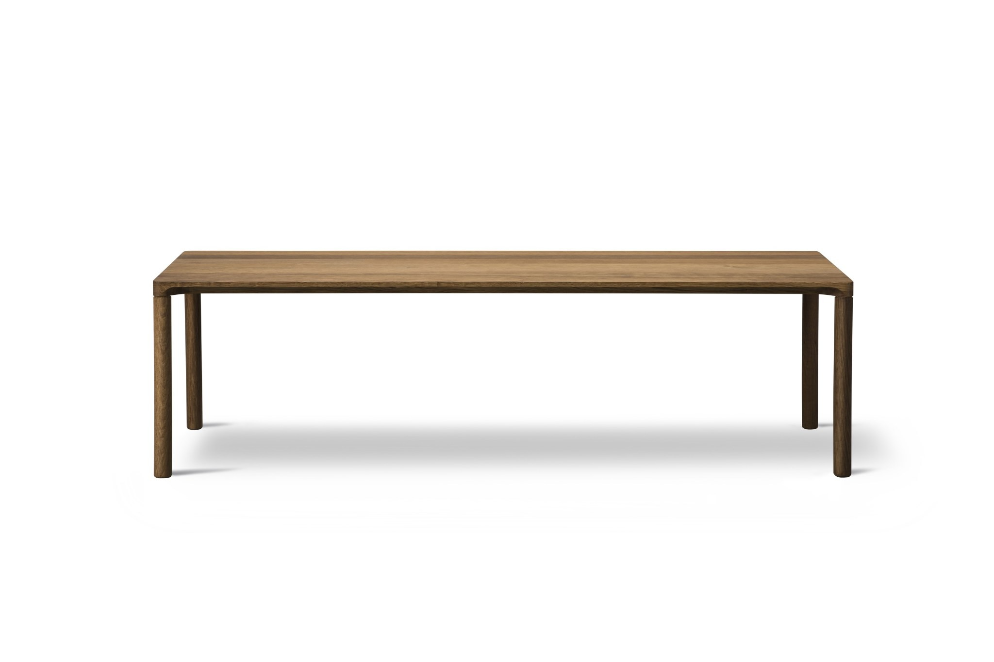 piloti table 120 x 39 cm oak smoked