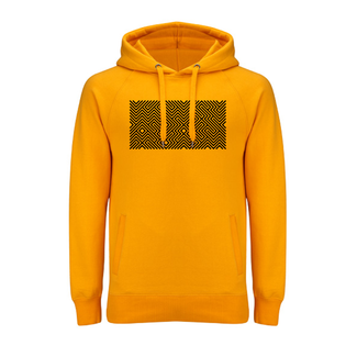 EMBROIDERED MAZE HOODIE YELLOW