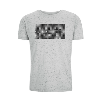SPECKLED GREY MAZE BLACK