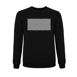 EMBROIDERED MAZE SWEATER BLACK