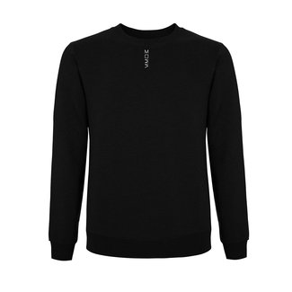 EMBROIDERED MOES SWEATER  BLACK