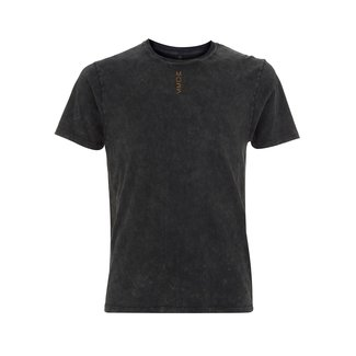 EMBROIDERED MOES T-SHIRT STONE WASH