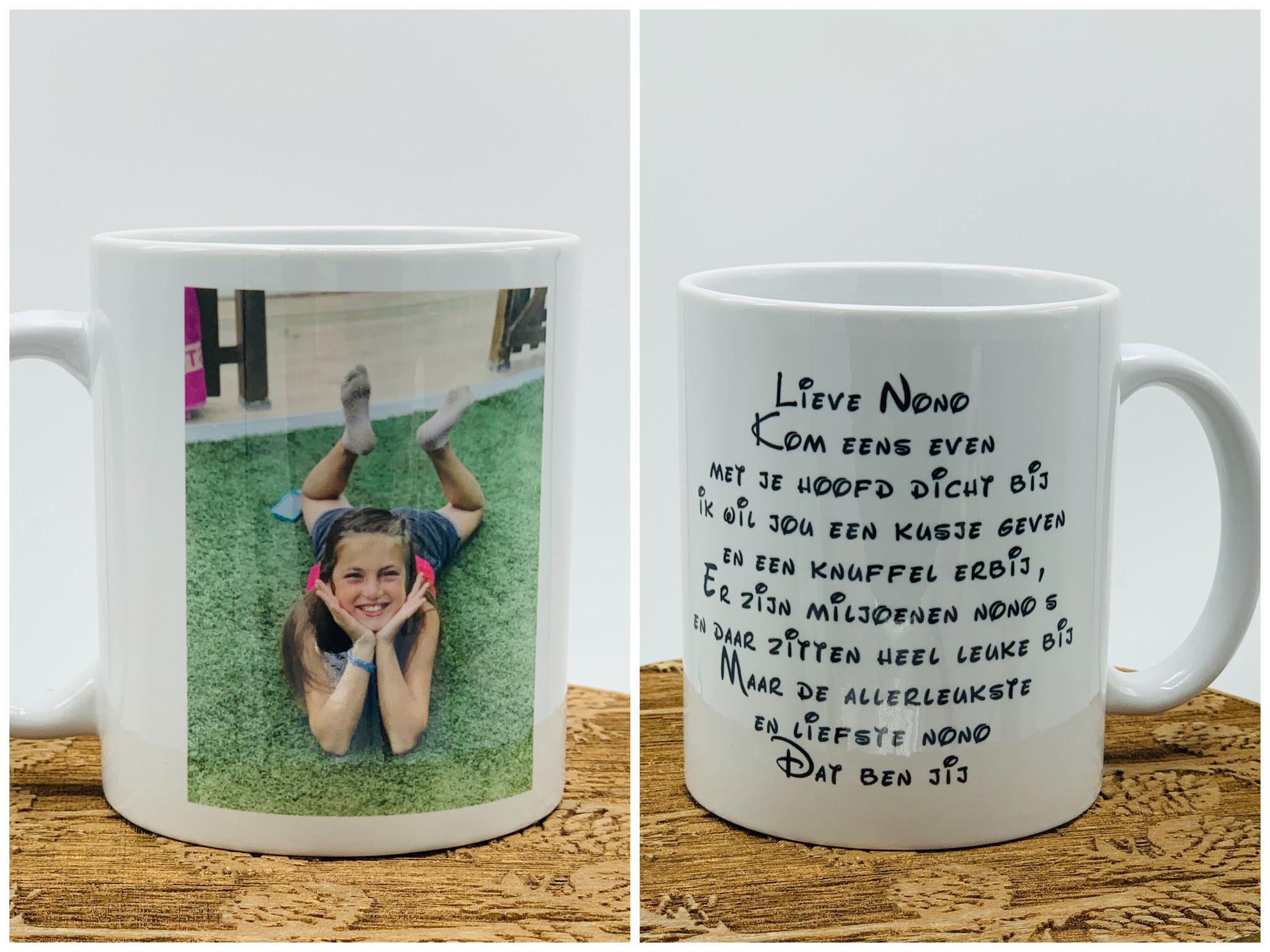 Gepersonaliseerde mokken maken koffie/thee drinken NOG leuker.
