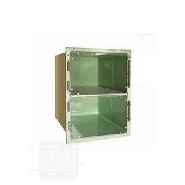 Cage en plastique à plexiglas 50x70x70 cm par unité