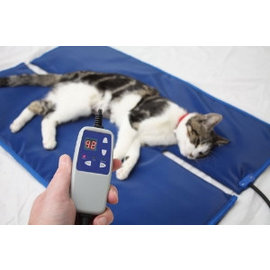 Heating pad temperature control/cover