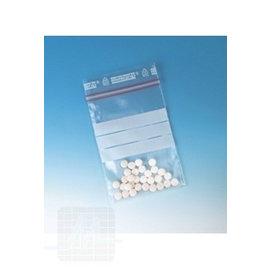 Sachet à médicaments avec espace pour autocollant 15x22cm 100 pièces