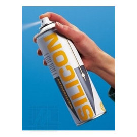 Silicone catheter spray