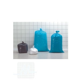Sacs poubelle 70x110cm 120 ltr bleu 250 pièces