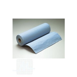 Medical roll 40cmx50m Blue